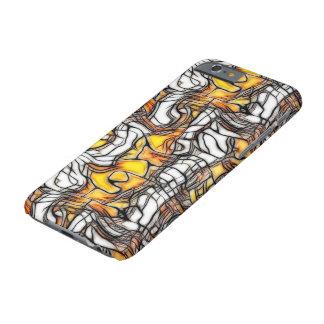 Cas liquide de l'iPhone 6 de mosaïque d'abrégé sur Coque iPhone 6 Barely There