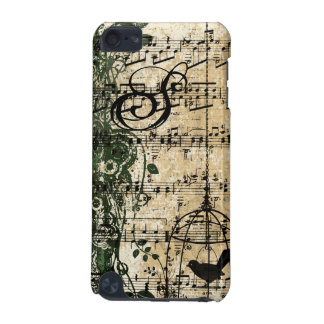 Cas mignon vintage d'iTouch de cage à oiseaux de Coque iPod Touch 5G