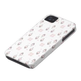 Cas rose de Coque-Compagnon de souris Coques iPhone 4