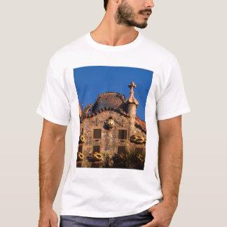 Casa Batilo, Gaudi Architektur, Barcelona, T-Shirt