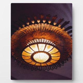 Casa Batllo interiour chandellier Fotoplatte