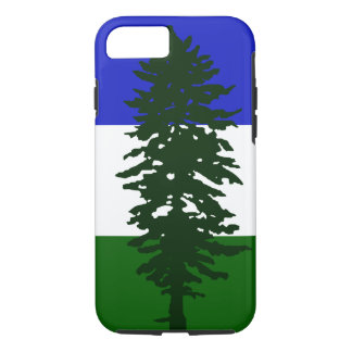 Cascadia Flagge Iphone 7 Abdeckung - starker Fall iPhone 8/7 Hülle