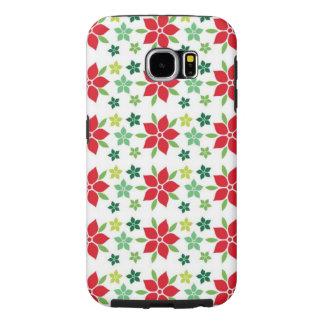 Case-Mate-Abdeckung Poinsettia-Samsungs-Galaxie-S3