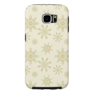 Case-Mate-Abdeckung Schneeflocke-Samsungs-Galaxie-