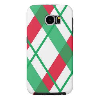 Case-Mate-Abdeckung Weihnachtskarierte Samsungs-Ga