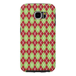 Case-Mate-Abdeckung WeihnachtsRauten-Samsungs-Gala