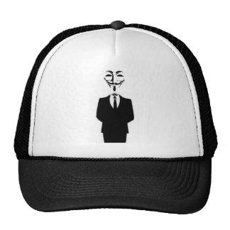 casquette anonyme frais d'homme