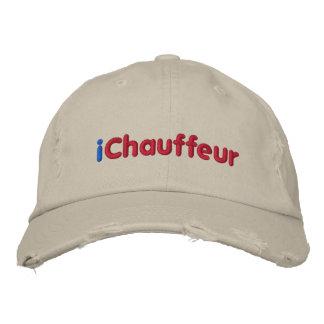 Casquette Brodée l'iChauffeur, me customisent !