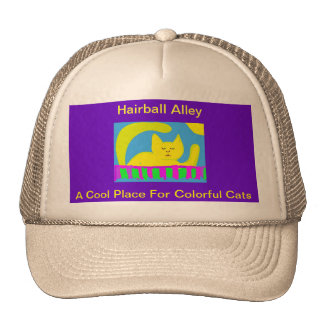 Casquette de cool d'allée de Hairball