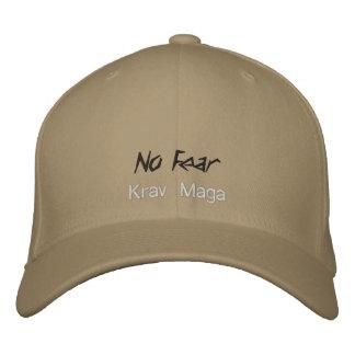 casquette de maga de krav aucune crainte casquette brodée
