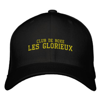 Casquette DES Glorieux Chambly und St.-Amable Bestickte Kappe