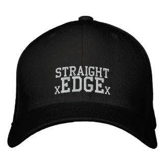 Casquette droit de bord casquettes de baseball brodées