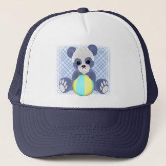 Casquette espiègle de bébé de panda