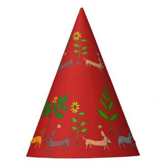 Casquette lunatique de partie d'usines de chats de chapeaux de fêtes