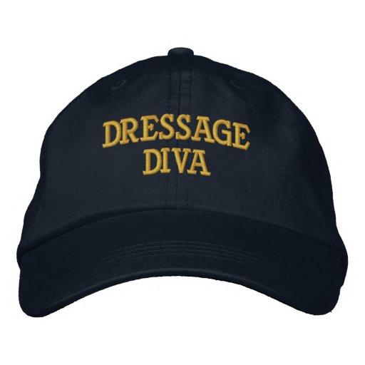 Casquette réglable de DIVA de DRESSAGE Casquettes Brodées