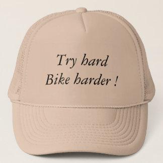 Casquette Try hard Bike Harder
