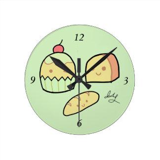 Casse-croûte mignons - horloge