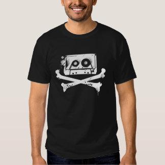 Cassette Tape Is Dead -2 - T-Shirt Stencil Custom