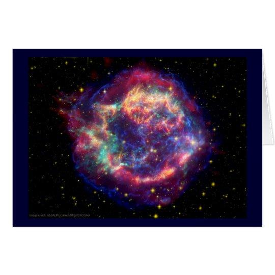 Cassiopeia ein Supernova-… Tod steht ihr Karte