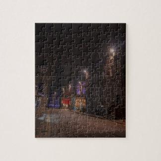 Castlehill Straßen-königliche Meile nachts
