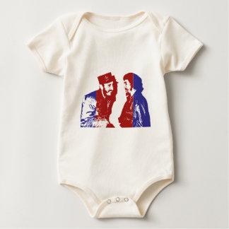 Castro und Che Baby Strampler