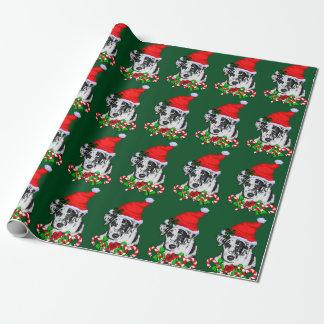 Catahoula Leopard-Hundeweihnachten Geschenkpapier