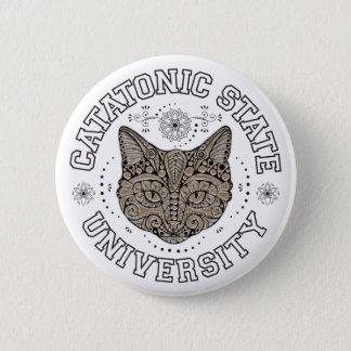 Catatonic Staats-Hochschulknopf Runder Button 5,7 Cm