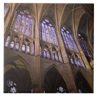 Catedral De Leon, InnenBuntglasfenster Fliese