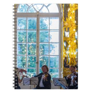 Catherine großer Palast Tsarskoye Selo Ball-Raum Notizblock