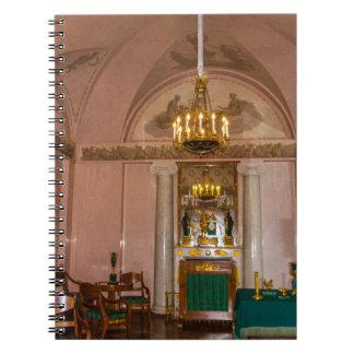 Catherine großer Palast Tsarskoye Selo Notizblock