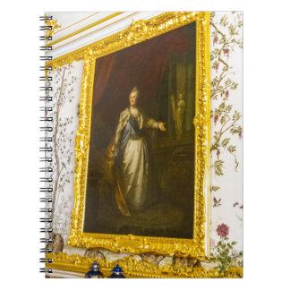 Catherine großer Palast Tsarskoye Selo Spiral Notizblock