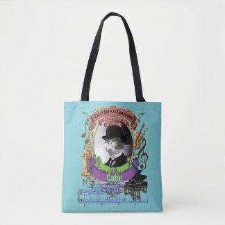 Catie lustige niedliche Katzen-Tierkomponist Satie Tasche