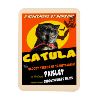 Catula Parodie-Film-Plakat-Magnet Magnet
