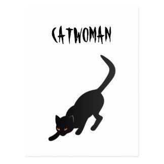 Catwoman Postkarte