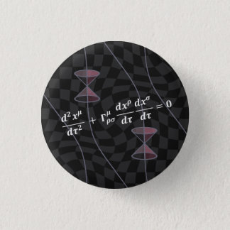 Causality in the Relativity Theory (type 2S) Runder Button 2,5 Cm