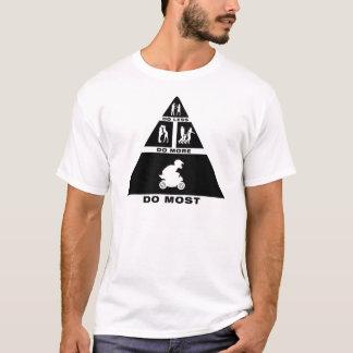 Cavalier de vélo de poche t-shirt