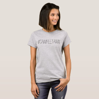 #cawfeetawk grauer T - Shirt (keine Lippen)