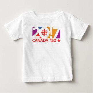 CBC/Radio-Canada Logo 2017 Baby T-shirt