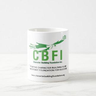 CBFI verwandelnde Tassen (blaues Weiß) 11 Unze
