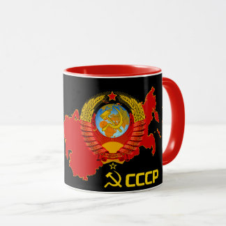 CCCP - Die Sowjetunions-Becher Tasse