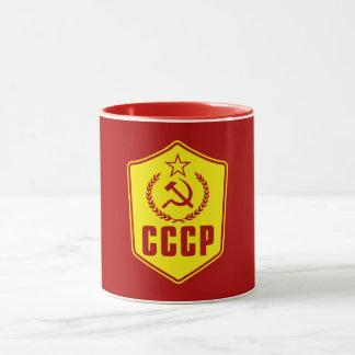 CCCP kommunistische Emblem-Tassen Tasse