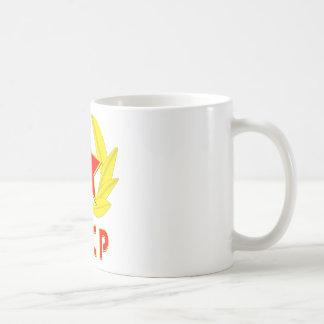 cccp UDSSR-Hammer und Sichelemblem Kaffeetasse