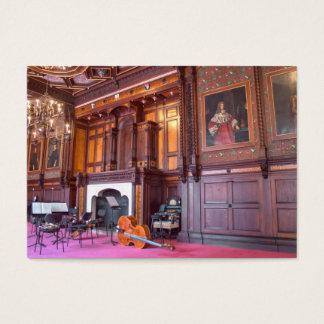 Cello im Staats-Raum Visitenkarte