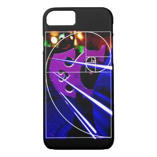 Cello- und Fibonacci-Spirale iPhone 7 Hülle