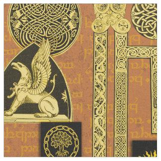 Celtic Gryphon und Kells Stoff