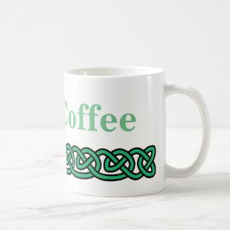 Celtic knotet Irishcoffee Kaffeetasse