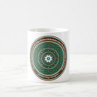 Celtic-Lotus-Mandala Kaffeetasse