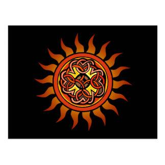 Celtic Sun 4 Carte Postale