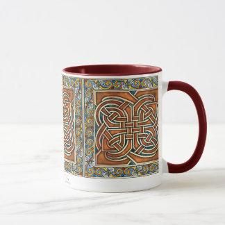 Celtic verschachteln Platten-Tasse Tasse