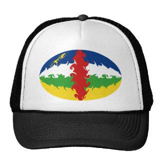 Centrafrique Gnarly Flaggen-Hut Baseballmützen